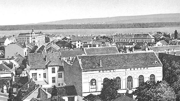 Hotel Evropa a zahrada, 1. desetiletí 20. stol. po r. 1907.