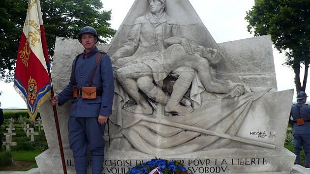 Armádní nadšenec a místopředseda Klubu vojenské historie Lukáš Lexa.