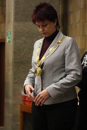 Staronová starostka Hodonína Milana Grauová.