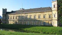 Současný stav zámku ve Veselí nad Moravou.