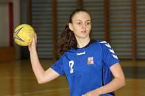 Hodonínská odchovankyně Nikola Kalinová se v pondělí a v úterý představí v dresu české juniorské reprezentace ve dvojzápase se Slovinskem.