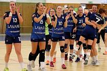 Házenkářky Veselí srovnaly stav série play-off o bronz.