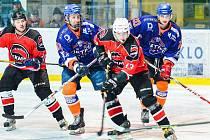 Béčko hodonínských hokejistů se po výhře v Kroměříži posunulo na osmé místo tabulky.