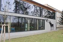 Nový pavilon ratíškovické základní školy.