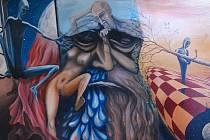 Miroslav Straka maluje krajinu i surrealistické výjevy.