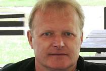 Trenér Kyjova Zdeněk Lorenc.