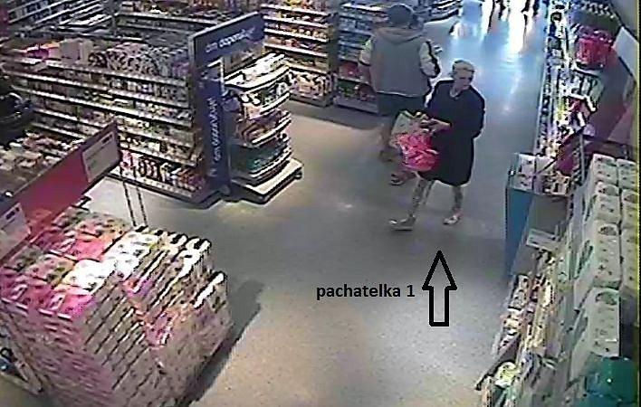 Policisté hledají zlodějky z drogerie