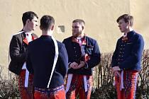 Lužičtí oslavili fašank. Průvodem i zábavou.