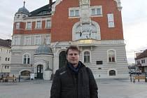 Herec, básník, moderátor a hudebník Petr Batěk v Hodoníně.