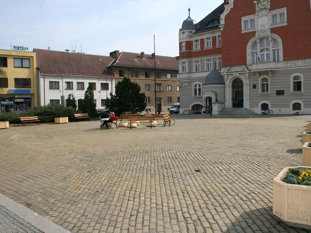 Jak asi bude vypadat Hodonínské náměstí po jeho rekonstrukci?
