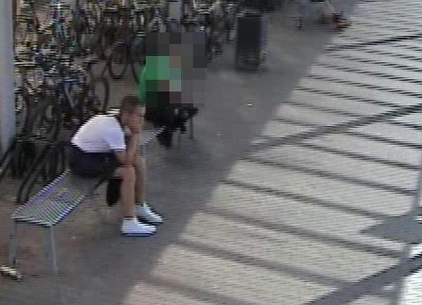 Policisté pátrají po zloději kola, mají záznam