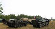 Na Pánově u Hodonína lidé obdivovali vojenskou techniku, výstroj i výzbroj armád.
