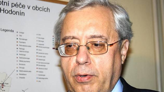 Krizový manažer kyjovské nemocnice Petr Svoboda.