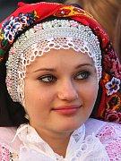 Šardický kroj je známý svou líbivou pestrostí a barevnou harmonií.