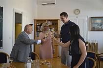 Setkání starosty Hodonína Libora Střechy se slovenskými kolegy přineslo nové partnerské možnosti.
