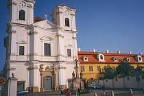 Kostel ve Veselí nad Moravou.