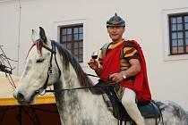 Čejkovické svatomartinské uvedl Martin na bílém koni.