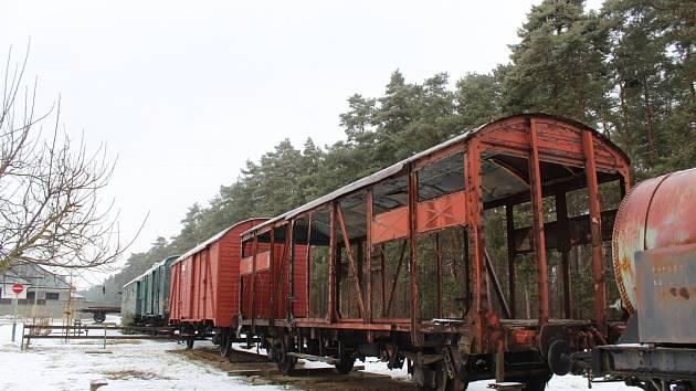Ratíškovické muzeum ve vagonech. Ilustrační foto
