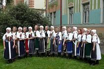 Pěvecký sbor Sboreček (fotografie z roku 2010).