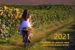 Kalendář na rok 2021 Rezedky za zdravá prsa objektivem Radka Severy.