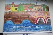 Kalendář na rok 2013 Velkomoravské mosty.