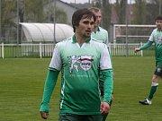 Ani útočník Bzence Tomáš Reška (na snímku) se v sobotním zápase střelecky neprosadil. Zápas skončil 0:0.