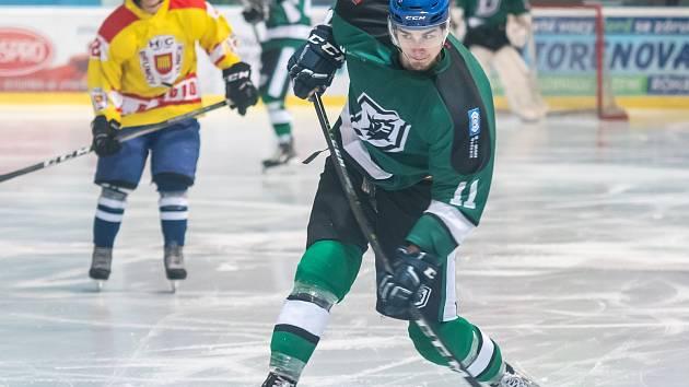 Hokejista David Janás.
