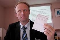 Odcházející ředitel kyjovské nemocnice Josef Pejchl.