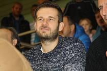 Vacenovický vinař a fotbalový gólman Marek Jaštík.