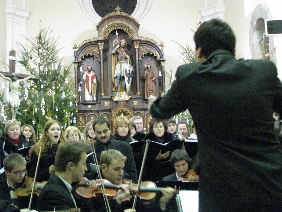 Vánoční koncerty na Kyjovsku.