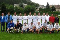 Fotbalisté Kyjova skončili na turnaji ve Všenorech druzí. Memoriál Stanislava Nejtka ovládl domácí tým.