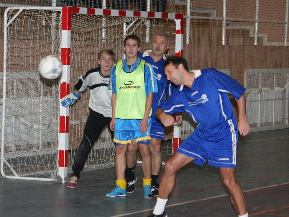 Novoroční fotbalový turnaj v Dubňanech