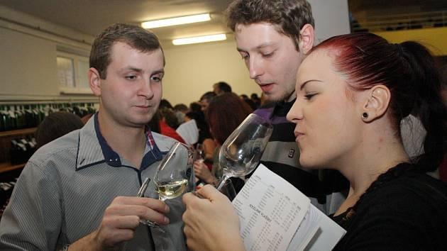 Pětačtyřicátý ročník výstavy vín v Žeravicích.