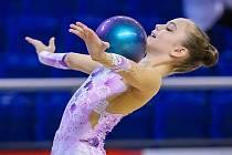Veselská gymnastka Sabina Zálešáková, která je členkou reprezentačního družstva juniorek České republiky, nedala svým soupeřkám šanci a s náskokem necelých dvou bodů obsadila první místo.