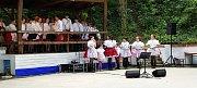 Šestý ročník Festivalu dechových hudeb v historickém sklepním areálu v Petrově.