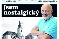 Titulní strana aktuálního vydání týdeníku Slovácko z 15. května 2018.