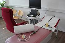 Kardiologická ambulance.