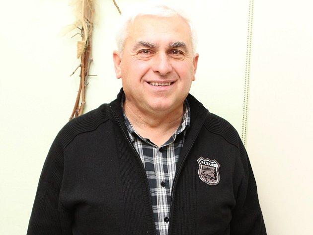 Ředitel Oblastní charity Hodonín Václav Salajka.