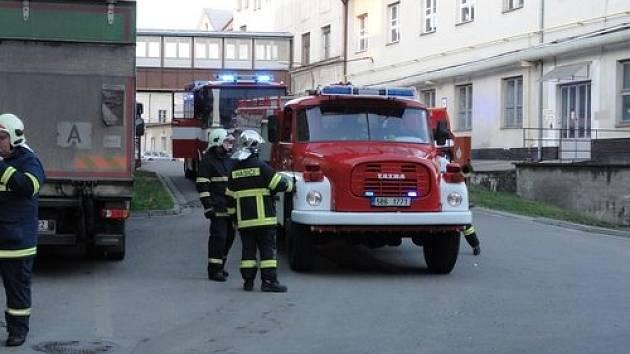 V Hodoníně vyjížděli hasiči v úterý před sedmnáctou hodinou k požáru kotelny.