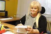 Poslední přednostka Okresního úřadu v Hodoníně Danuše Křiváková. Na snímku v době, kdy byla ředitelkou Nemocnice Kyjov.
