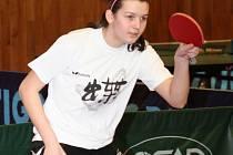 Kateřina Tomanovská na tréninku
