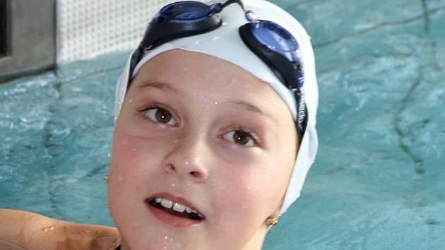 Mladá hodonínská plavkyně Lucie Zubalíková patří mezi velké naděje slováckého celku.