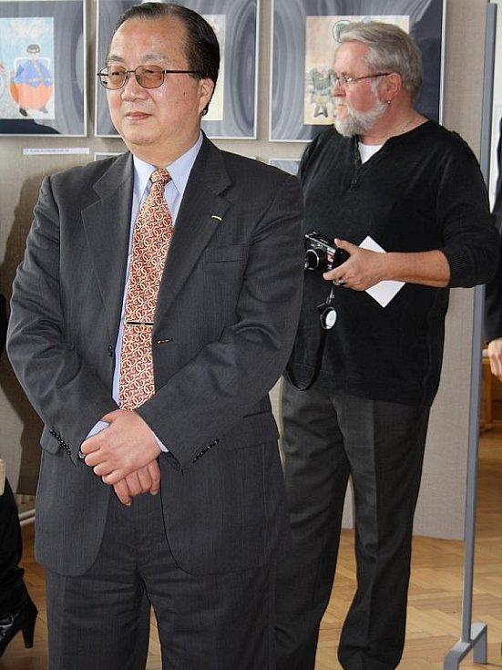 Výstava fotografií doplňující seminář tchajwanského filmu ve Veselí nad Moravou.