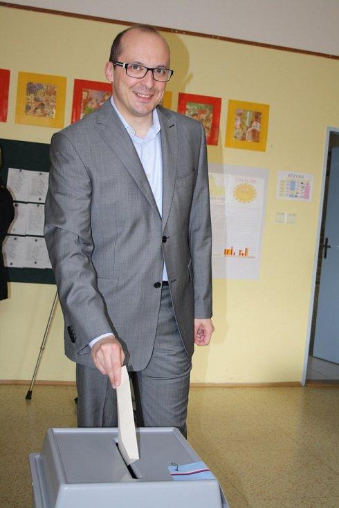 Lídr jihomoravské kandidátky SPOZ a starosta Kyjova František Lukl.