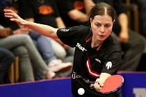 Hodonínská stolní tenistka Kateřina Pěnkavová ve finále neprohrála.