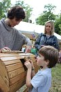 Program v zámeckém parku ve Veselí oslovil návštěvníky všech generací.