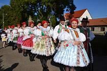 Tradiční krojované hody v Moravském Písku se vždy těší hojné návštěvnosti.