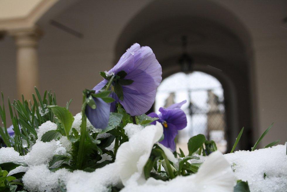 Na millotickém zámku zahájili sezonu na sněhu. Spolu se zahájením oslavili i velikonoce. Návštěvníci se vrátili v čase do dvacátých let minulého století.