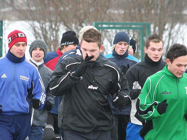 Mutěničtí fotbalisté se připravují na jarní část sezony.