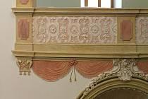 Štuková výzdoba kostela sv. Andělů strážných ve Veselí nad Moravou